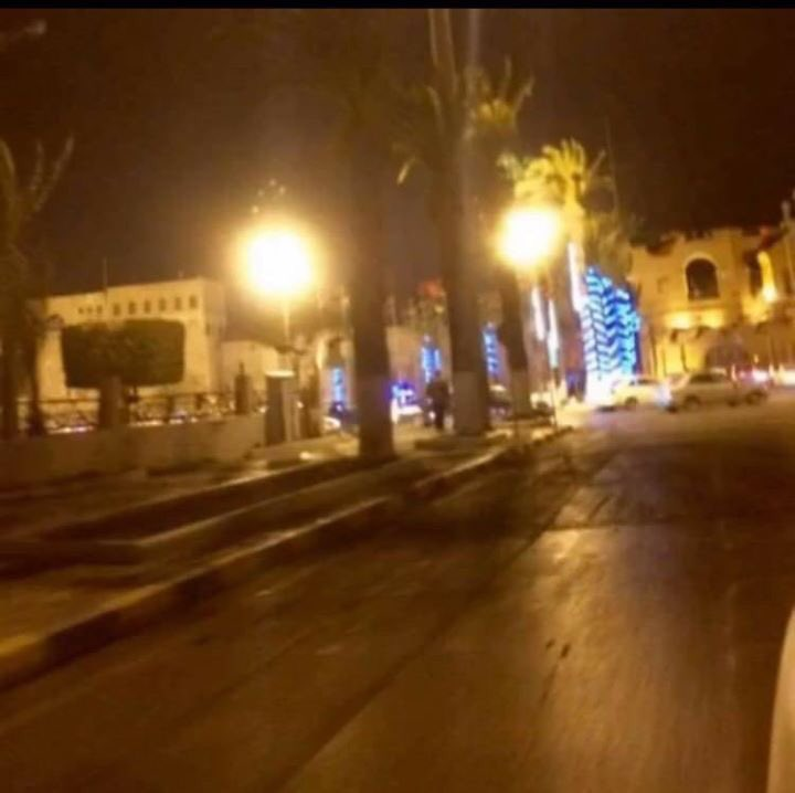 Protestors fled Martyr Square Tripoli after hearing gunshots. Gunmen also storm Libya 218 TV Channel and arrests crew members