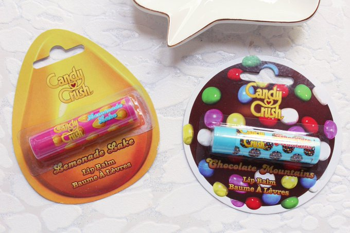 Candy Crush Lip Balms