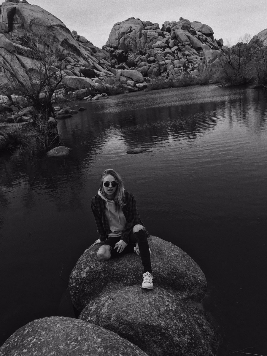 Me on a rock lol instagram.com/p/BRwJL6EANB1/