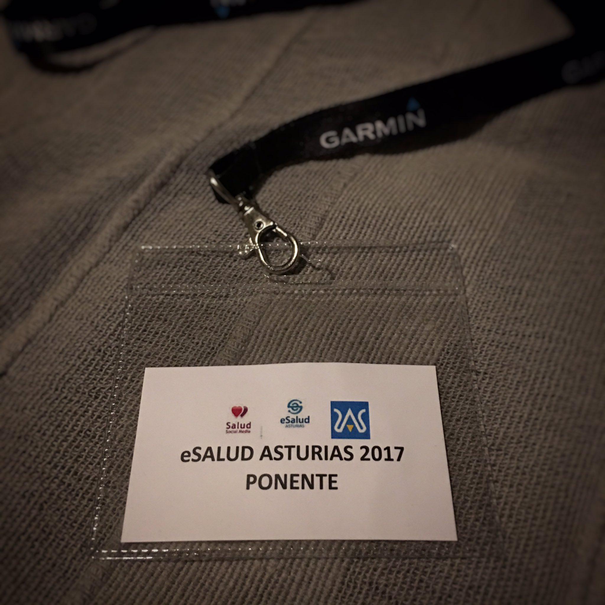 Muy agradecido por haber participado en las jornadas #esast17 #ehealth #esalud @ignacioFALBERTI @SaludSM @JD_Branding @BiocrewInvest y más https://t.co/psoTMYyZ9N