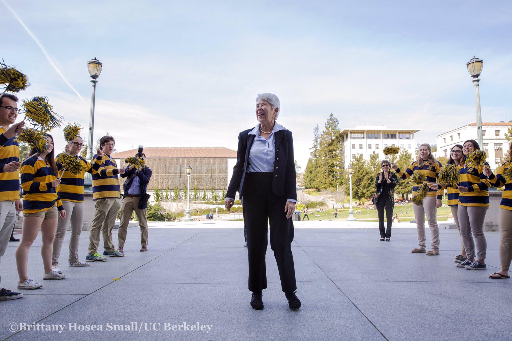 UC Berkeley celebrates the announcement of it's 11th chancellor, Carol Tecla Christ. @UCBerkeley https://t.co/VnWRpXkazJ