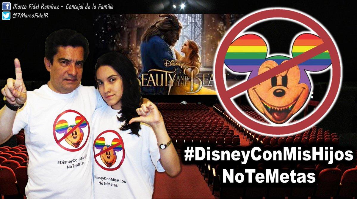 Marco Fidel Ramírez On Twitter Invito A Los Padres De Familia A No Llevar A Sus Hijos A Ver La Nueva Película De Disney La Bella Y La Bestia Disneyconmishijosnotemetas Https T Co Pbqiv7le04