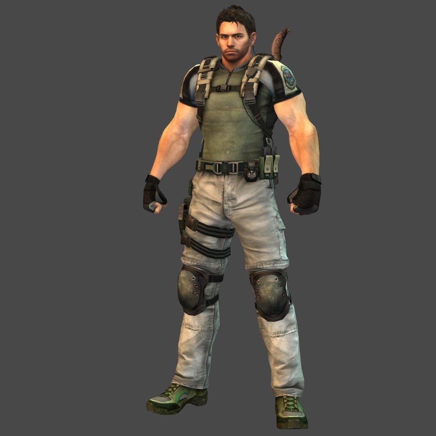 Chris Redfield On Twitter Resident Evil 5 Chris Redfield Skin