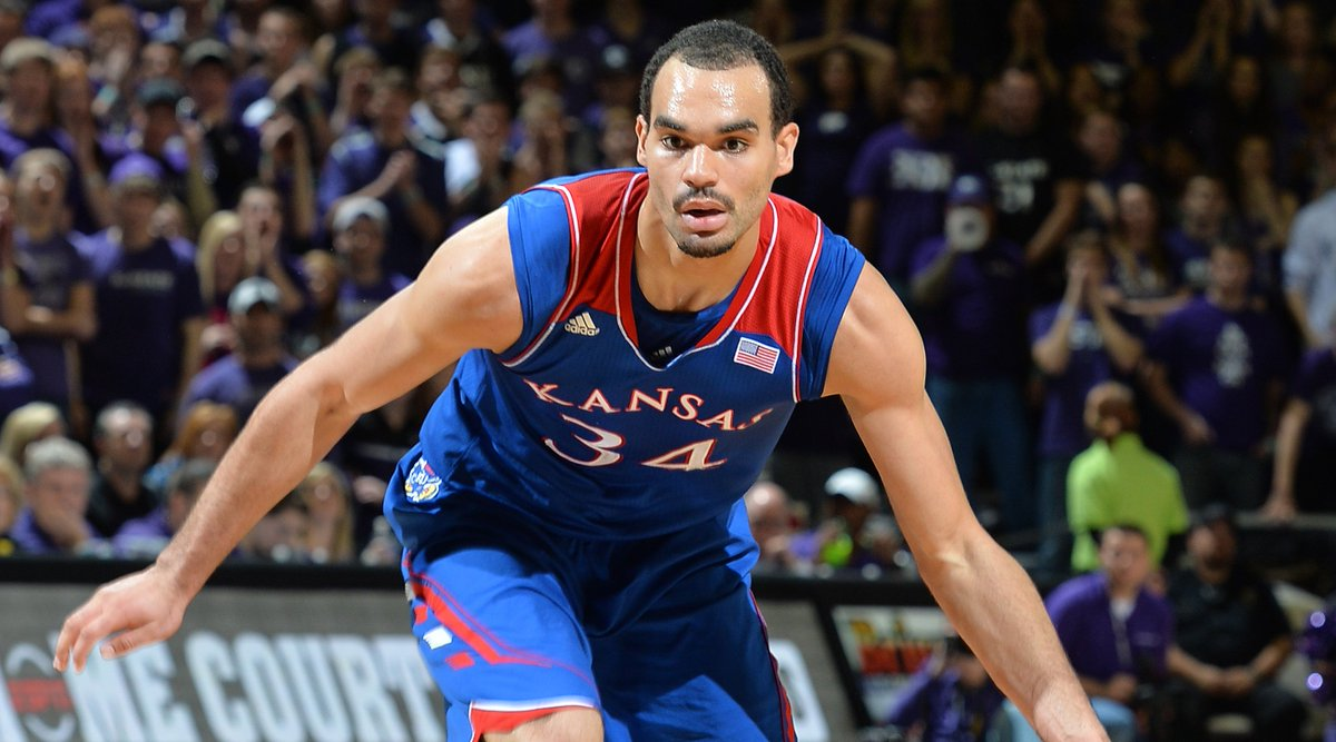 Reminder: This is Kansas' first appearance in the NCAA Tournament without Perry Ellis since 1952*.  *stat may not be accurate