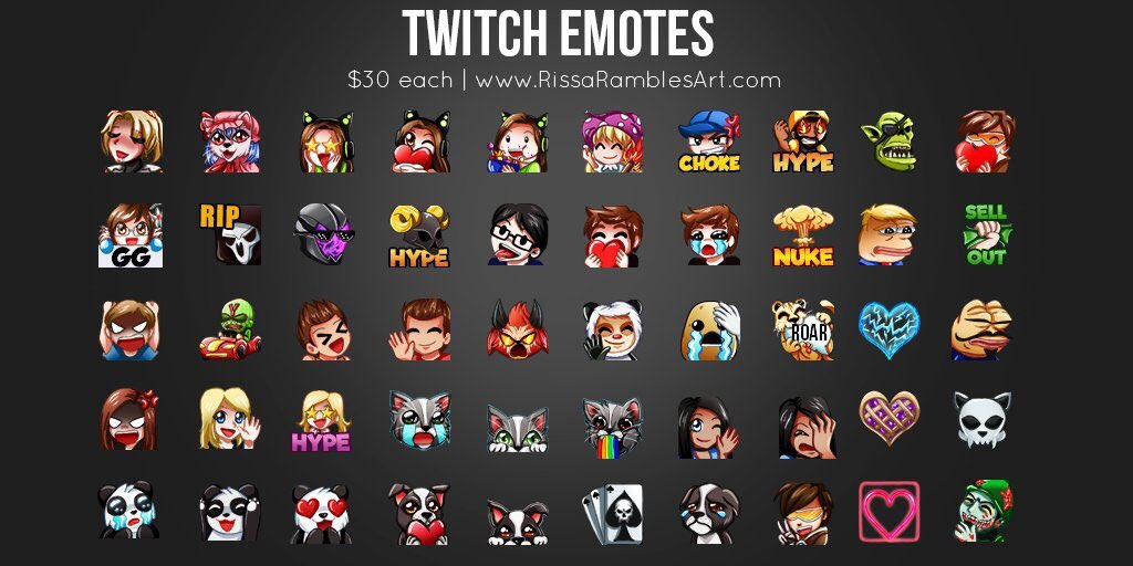 how to get all twitch emotes
