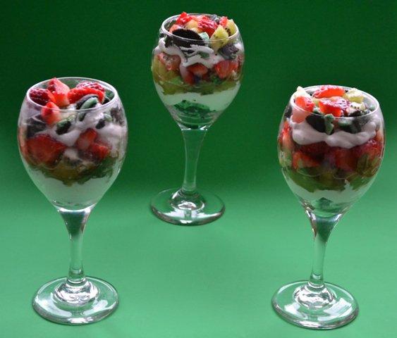 Oreo Mint Trifle Parfait