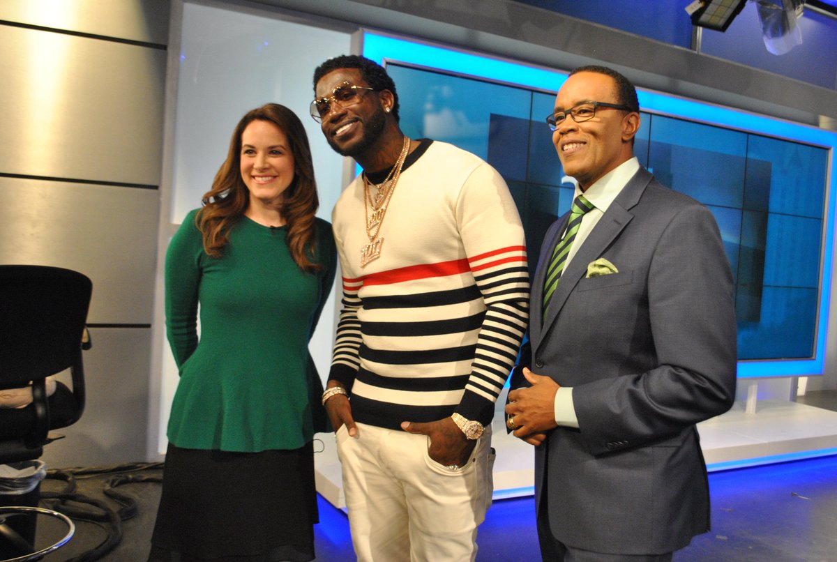 Burr: It's quite icy as Gucci Mane comes to visit the 11Alive Studios! More info coming soon. @gucci1017 https://t.co/lVH1wkf9l3