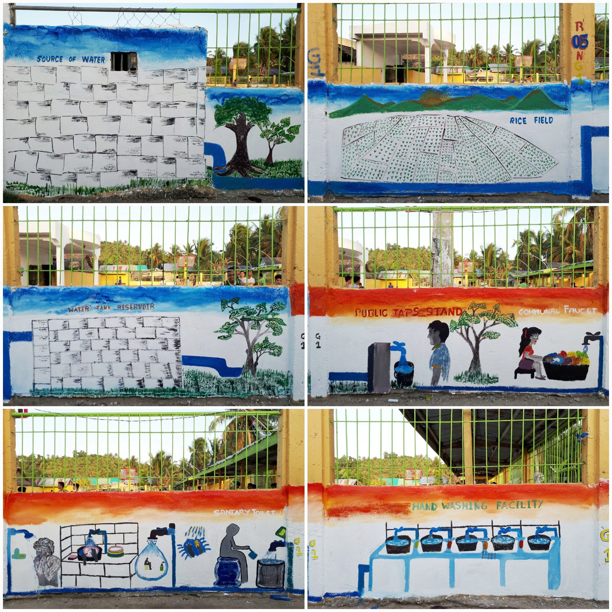 The #iWaSH community mural in Aroroy Masbate has been conceptualized by school boys and girls and their mothers. #WWDPH #GlobalGoals https://t.co/xk5oxV77ew