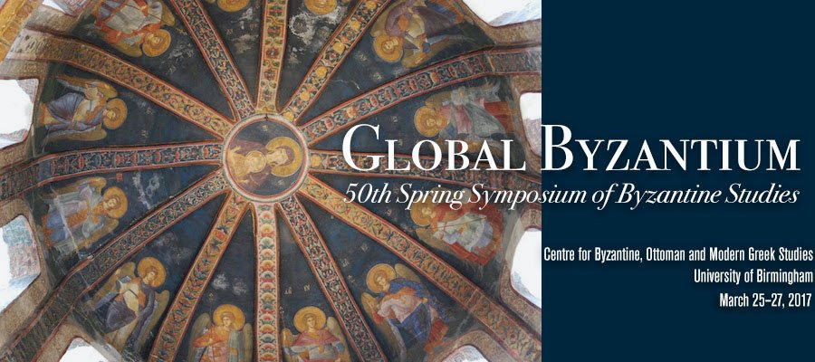 Looking forward to #GlobalByzantium organized by Prof L Brubaker, Dr D Reynolds @Kallinistos Dr R Darley,  25-27/3 https://t.co/szSYigZUGh