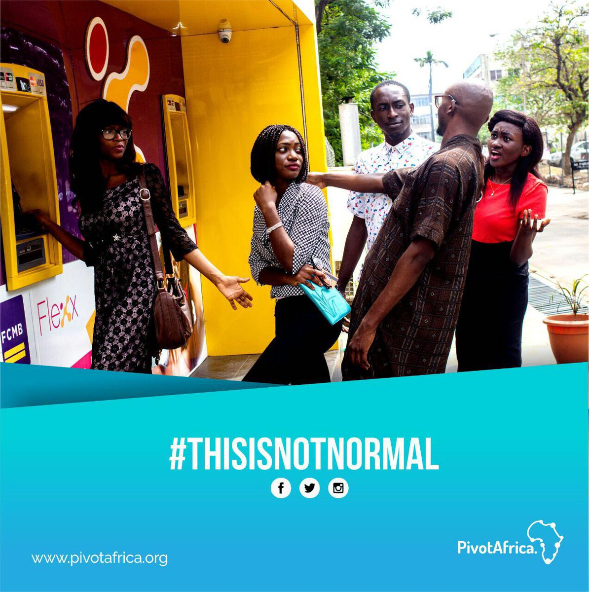 It starts in less than 3 hours! #ThisIsNotNormal Let&#39;s talk about the societal attitudes that are not okay. <br>http://pic.twitter.com/OzHPFdSsNL