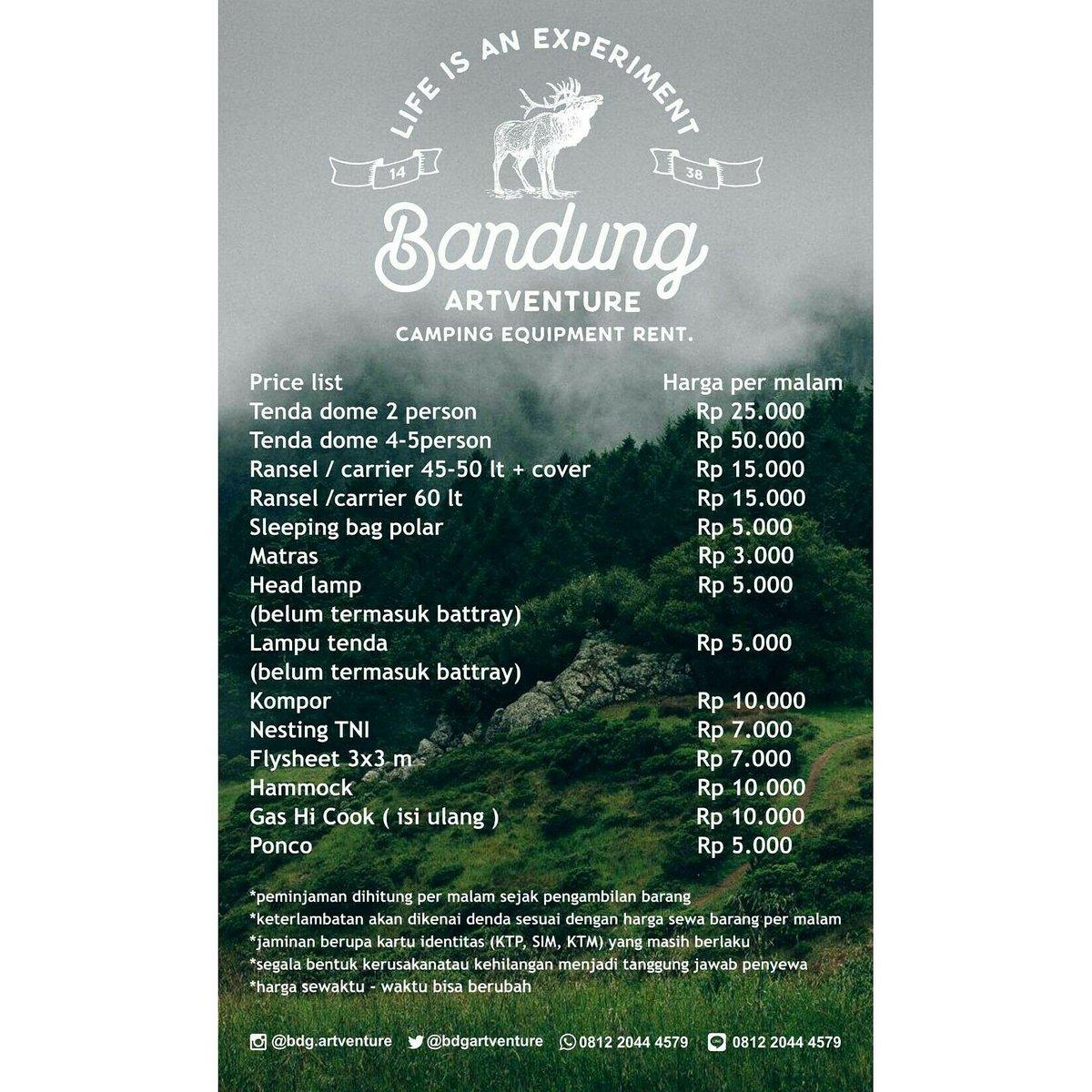 Sewa Alat Camping On Twitter Sewa Alat Camping Camping Equipment Rent Rental Camp Alat Outdoor Cisitu Baru No20 Simpang Dago Bandung Line Wa 081220444579 Https T Co 3mldivnq3f