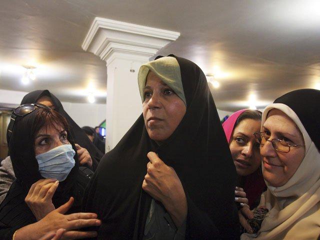 #Iran sentences daughter of late president to #jail for second time:  http:// en.azvision.az/news/61343/ira n-sentences-daughter-of-late-president-to-jail-for-second-time.html#.WMzzSva5aLM.twitter &nbsp; …  #rafsanjani @rafsanjani_en @real_iran<br>http://pic.twitter.com/oaXtsIfxqs