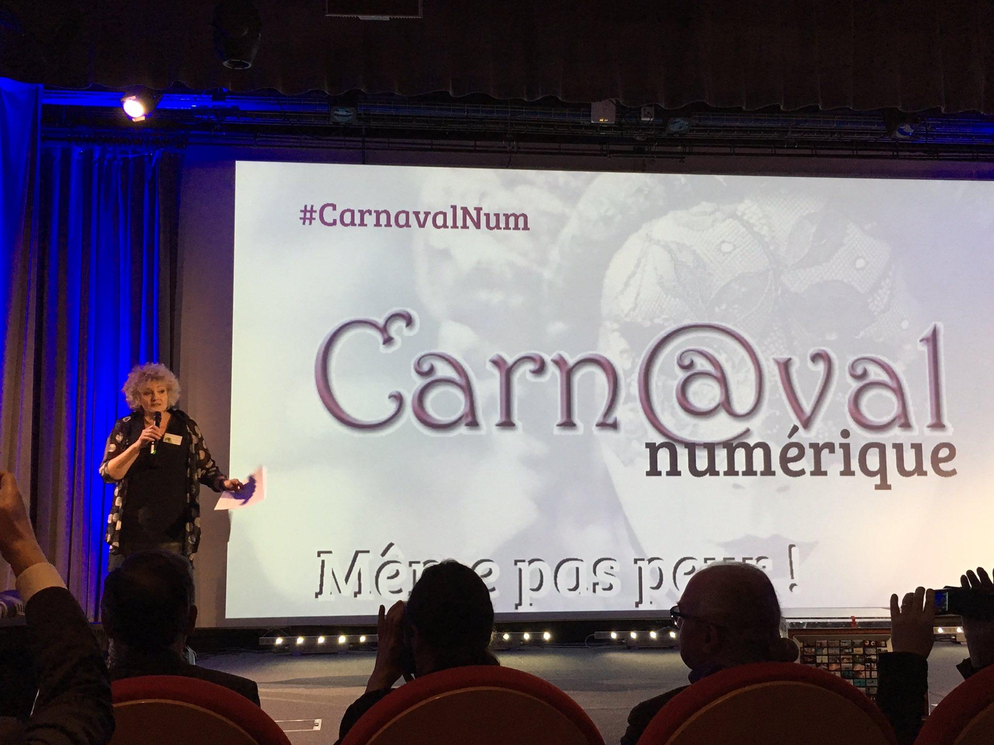 """Le mot de @LMeduc """"nous avons du mal à modifier nos représentations"""" l'enjeu du #carnavalNum est là ! https://t.co/SJYuIdTUcd"""