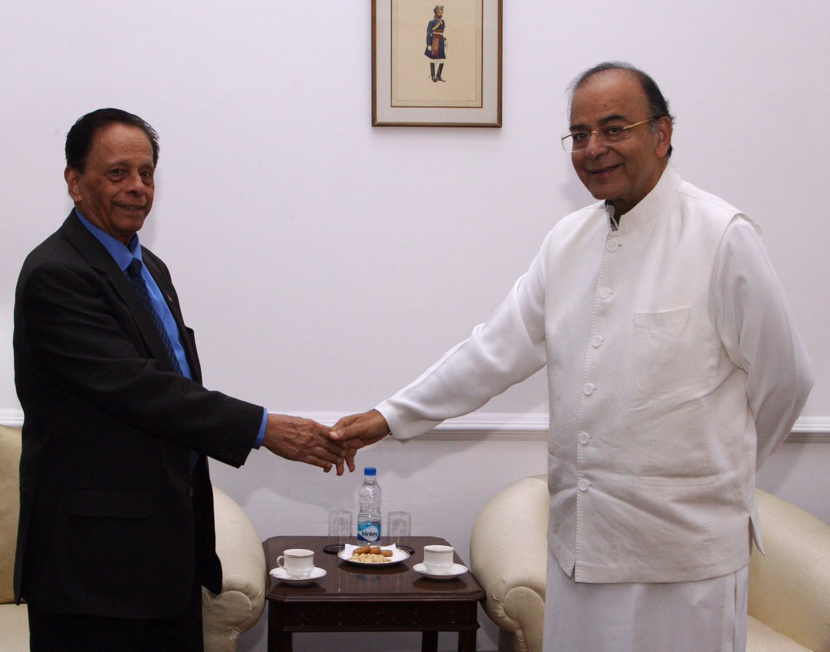 Meeting with Mauritius Minister of Defence Sir Anerood Jugnauth, South...