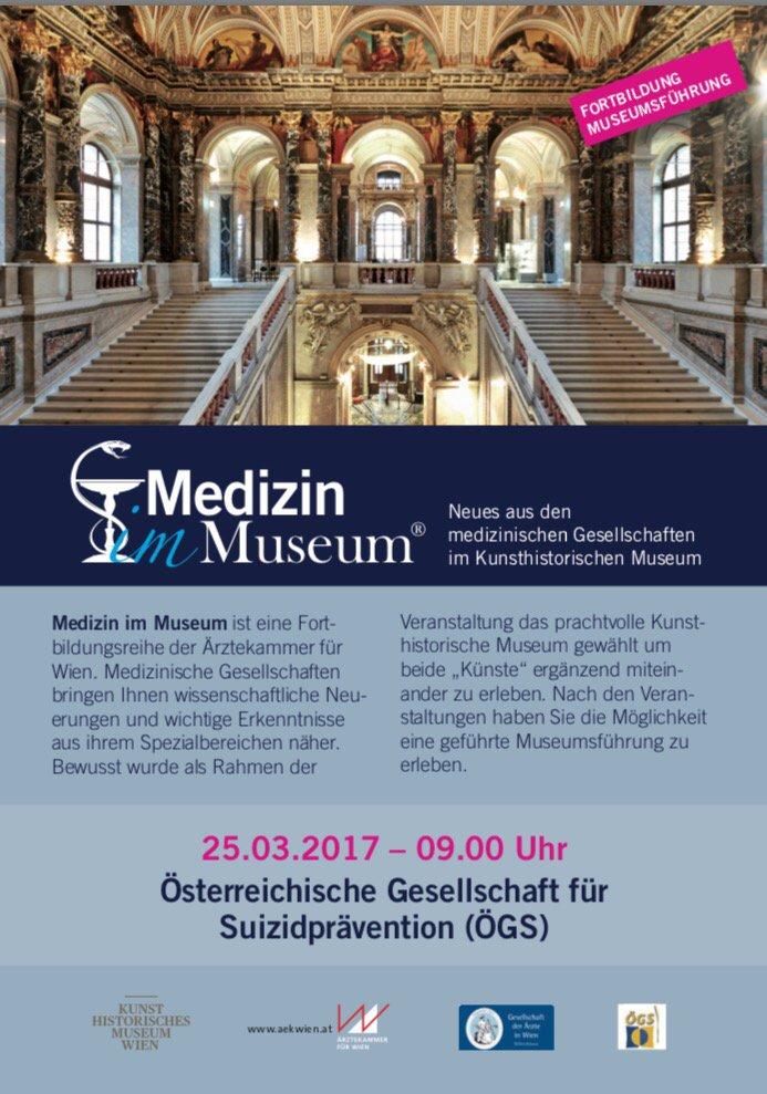 Am 25.32017: Die Österreichische Gesellschaft für Suizidprävention (ÖG...