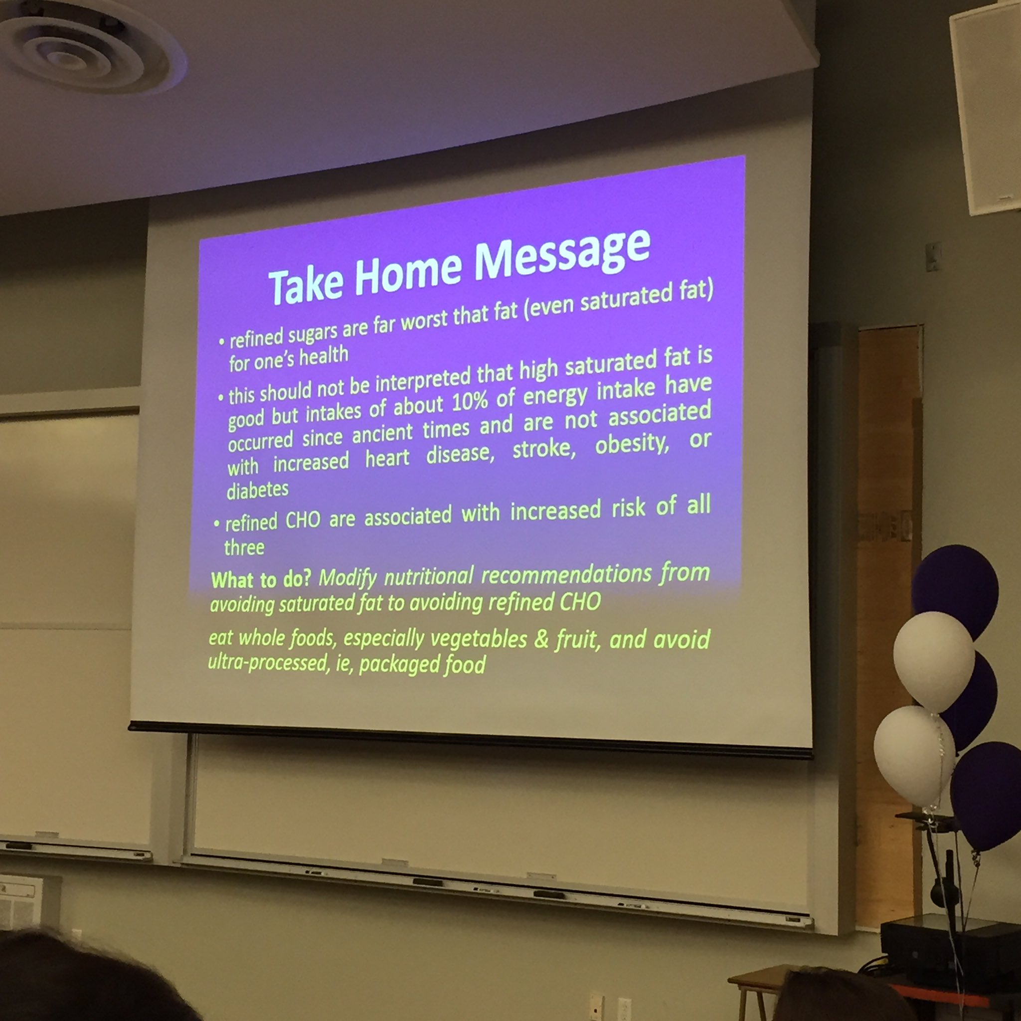 Dr. Peter Lemon @westernu -- reminding us that refined sugar is turning us into fat-making machines #exercisenutritionsymposium https://t.co/E7MZFi5MyV