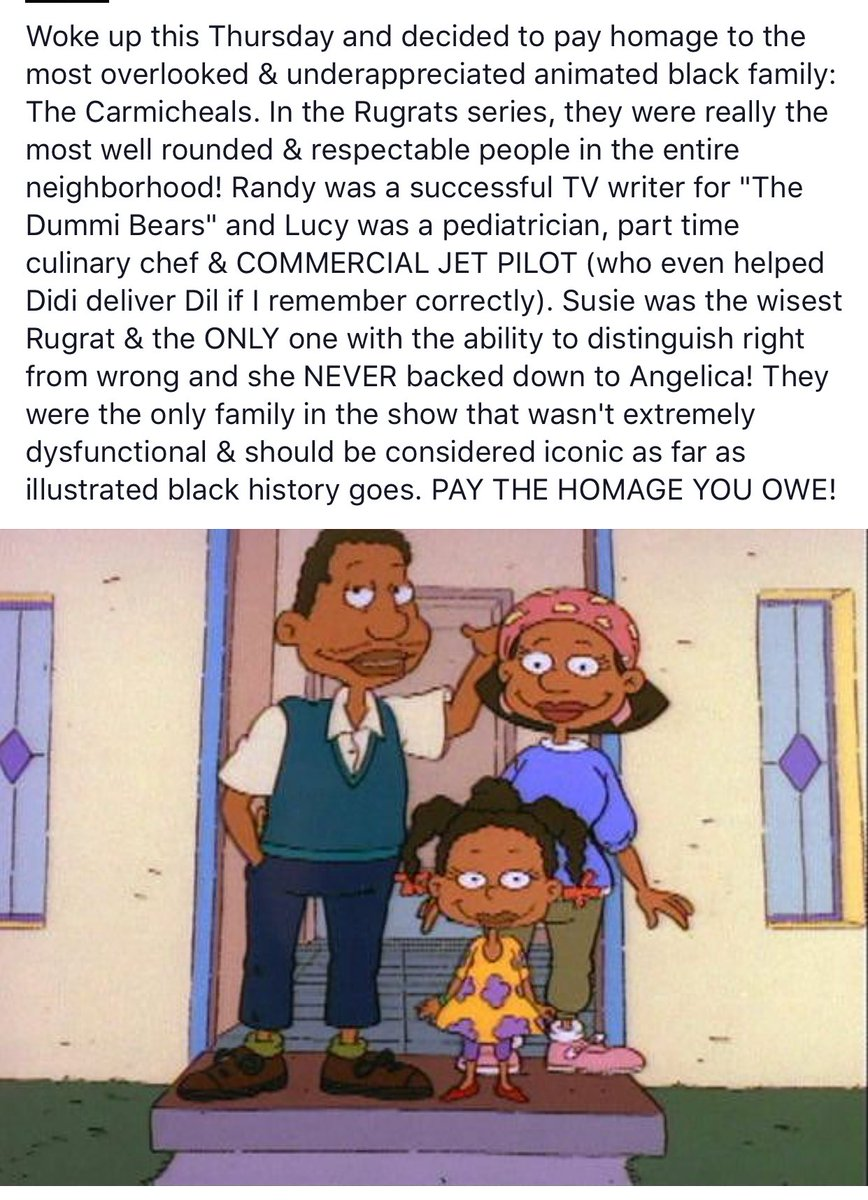 Most overlooked black family
