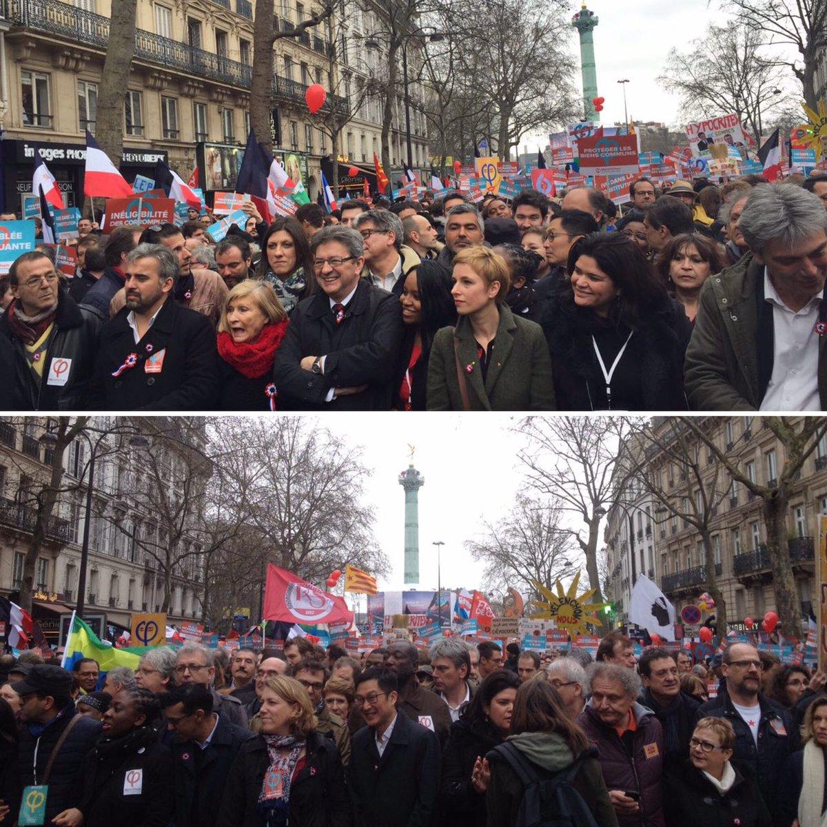 Marche pour la 6e République, c'est parti ! #18mars2017 #Bastille #République - 18mars2017.fr