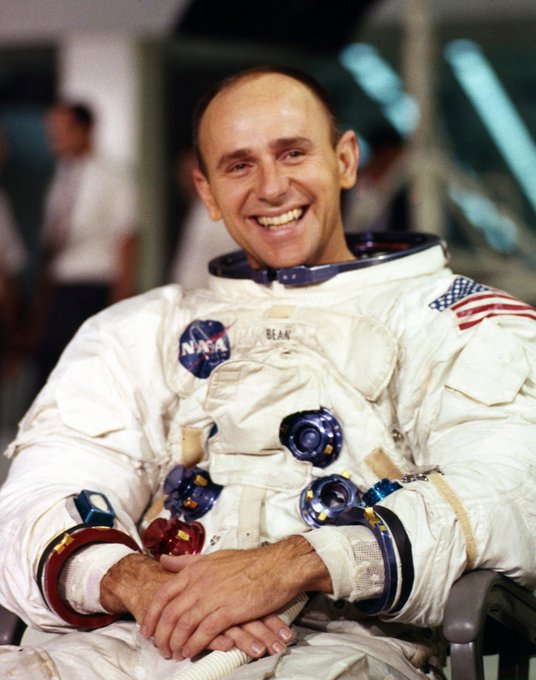 Happy Birthday to pioneer Alan Bean, Apollo 12 moonwalker and Skylab veteran, born in... by
