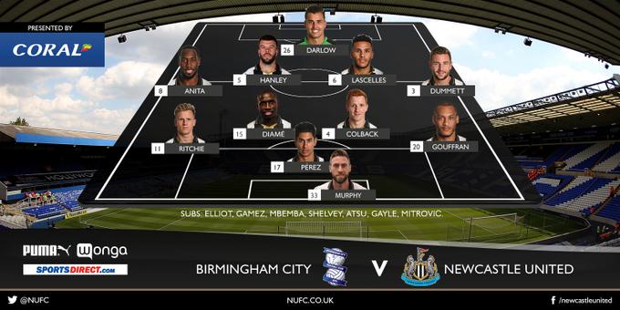 Birmingham City - Newcastle United C7NKTRCXUAAzVXH