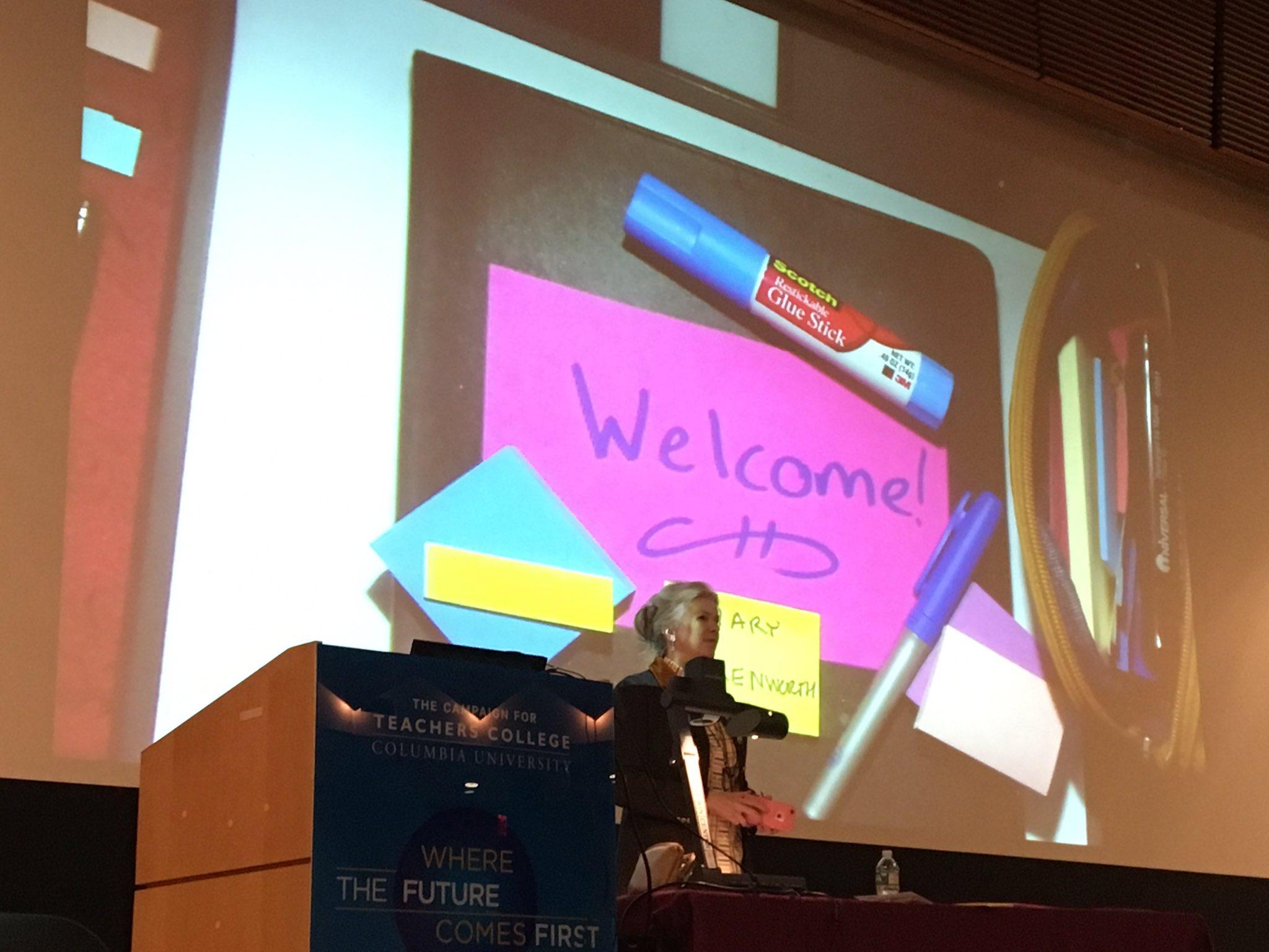 @MaryEhrenworth speaking about making your reading instruction stick @TCRWP #tcrwp https://t.co/33eHzYTDqB