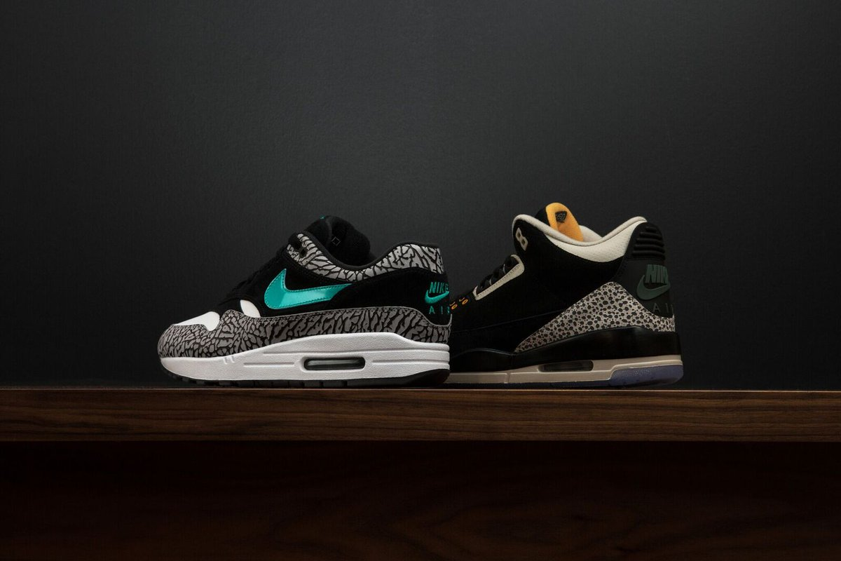 info for 74e63 cda72 ... x Nike Air Max 1   atmos Air Max 1 x Jordan II Pack are Now Available  Online  http   www.ubiqlife.com new-arrivals.html  …pic.twitter.com NspyBSdowM