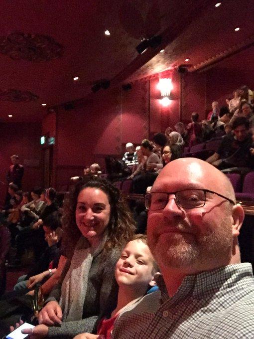 Aladdin at the Prince Edward Theatre. Happy Birthday Cathryn!