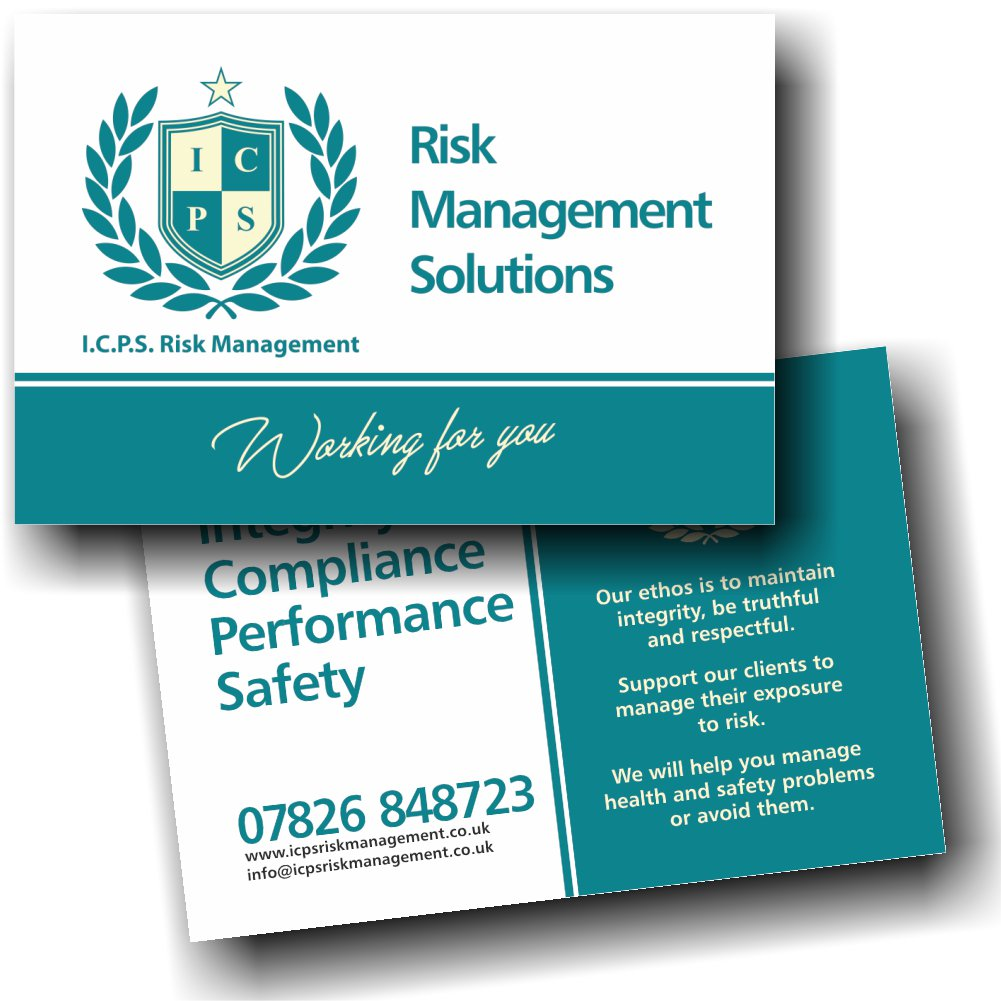 Aw graphics design on twitter business cards designed aw graphics design on twitter business cards designed printed for icps risk management solutions compliance performance health safety colourmoves