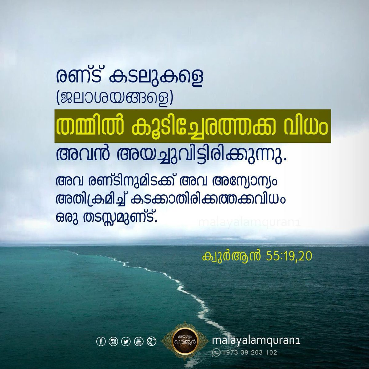 malayalam quran on quran quote
