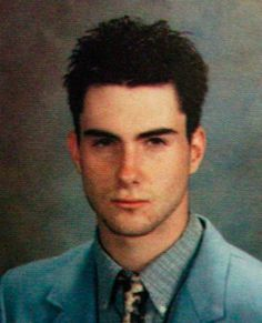 Happy Birthday Adam Levine!! his expression doesn\t change...