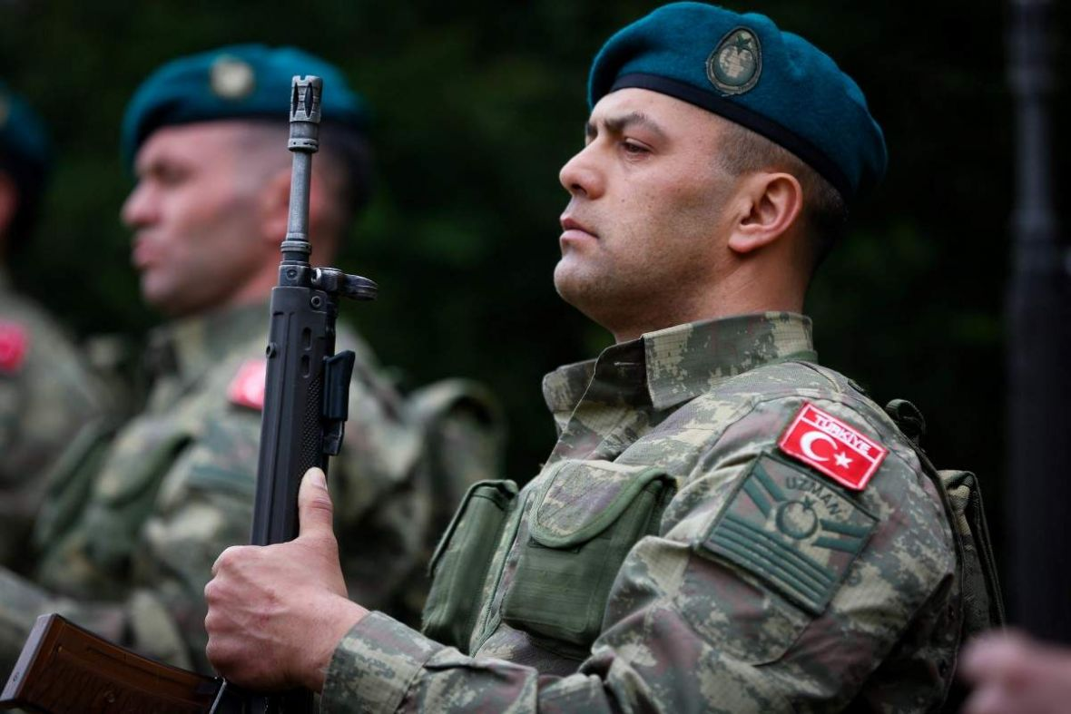 Bosnia - In Sanski Most commemorated 102 Anniversary of the Canakkale Victory, attended by EUFOR Turkey bat. Tayfun Celik, @SaraybosnaBE