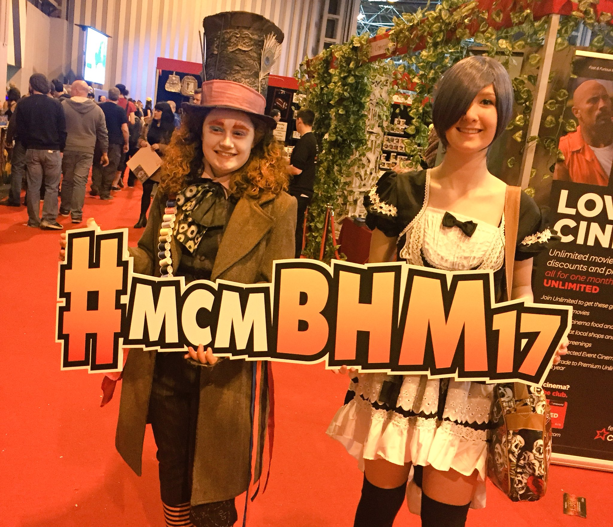 The hashtag is back! Have you been spotted? Check out our Instagram! #mcmBHM17 https://t.co/JEeSjSwNZE