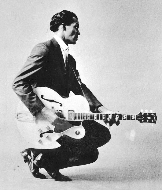 """""""The Father of Rock & Roll""""  Charles """"Chuck""""  Edward Anderson Berry (October 18, 1926 - March 18, 2017) https://t.co/1SModd7R1U"""