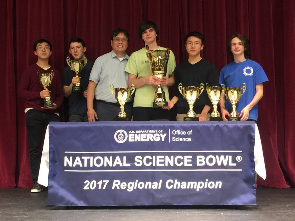 Maryland Science Bowl Champions