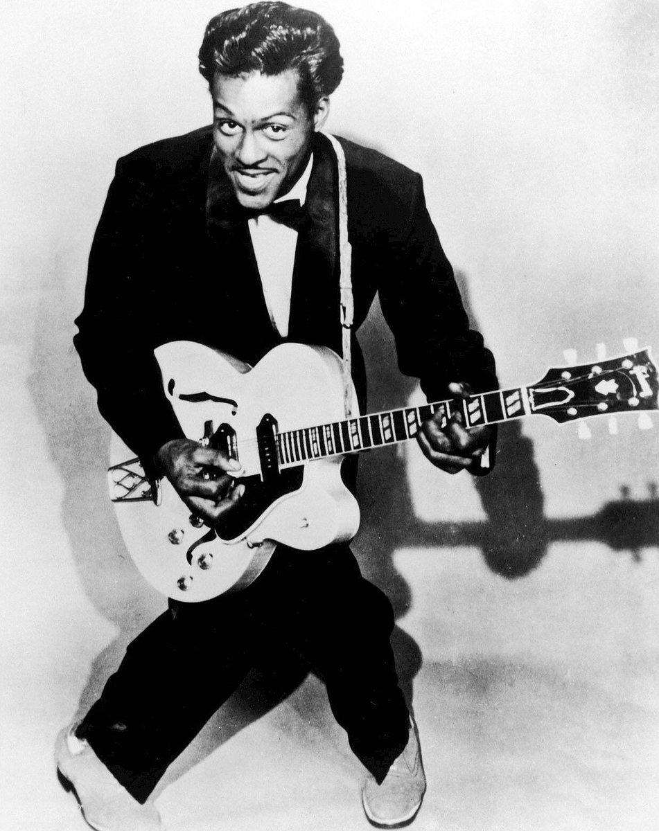 """""""If you tried to give rock and roll another name, you might call it 'Chuck Berry'.""""- John Lennon. RIP #ChuckBerry https://t.co/tMcpxLIigl"""