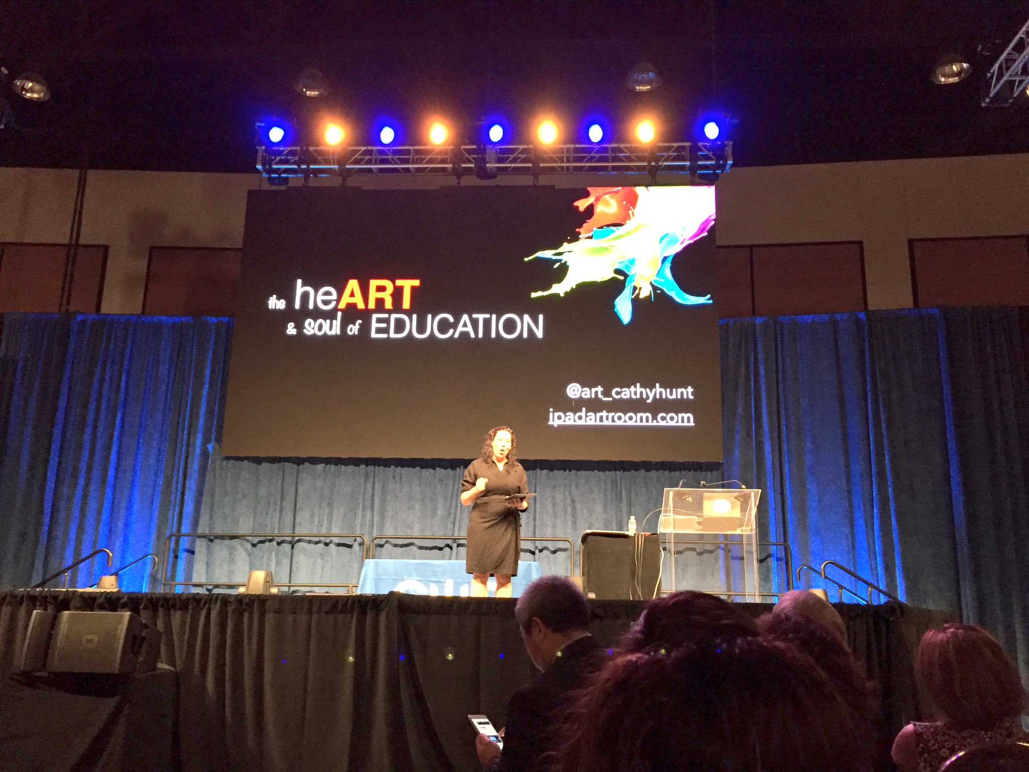 So looking forward to hearing @art_cathyhunt #CUE17 https://t.co/E5Rnj53taQ