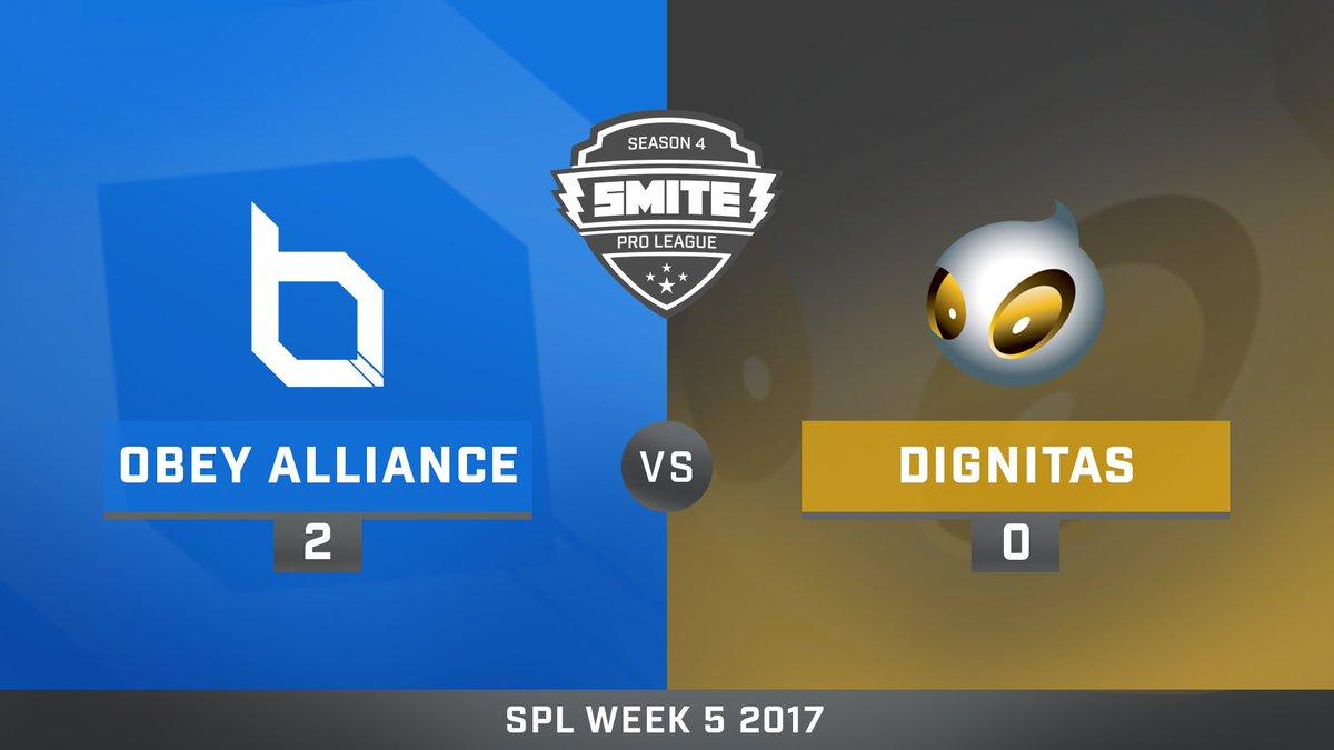 Obey Alliance vs Team Dignitas