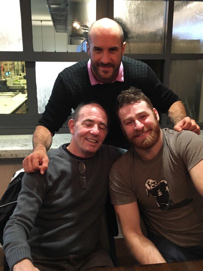 A reunion at its finest @iLikeSamiZayn @WWECesaro #wweallentown @ringofhonor @KINGCorino @ScrapDaddyAP https://t.co/j6WdgvwHcW