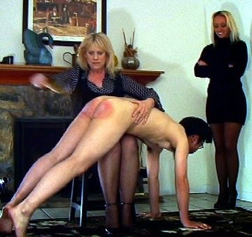 Bare Bottom Over The Knee Spanking