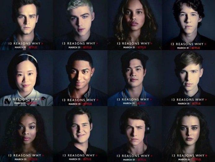 Resultado de imagem para 13 reasons why cast