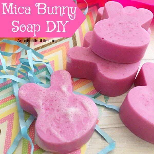Mica Bunny Soap DIY