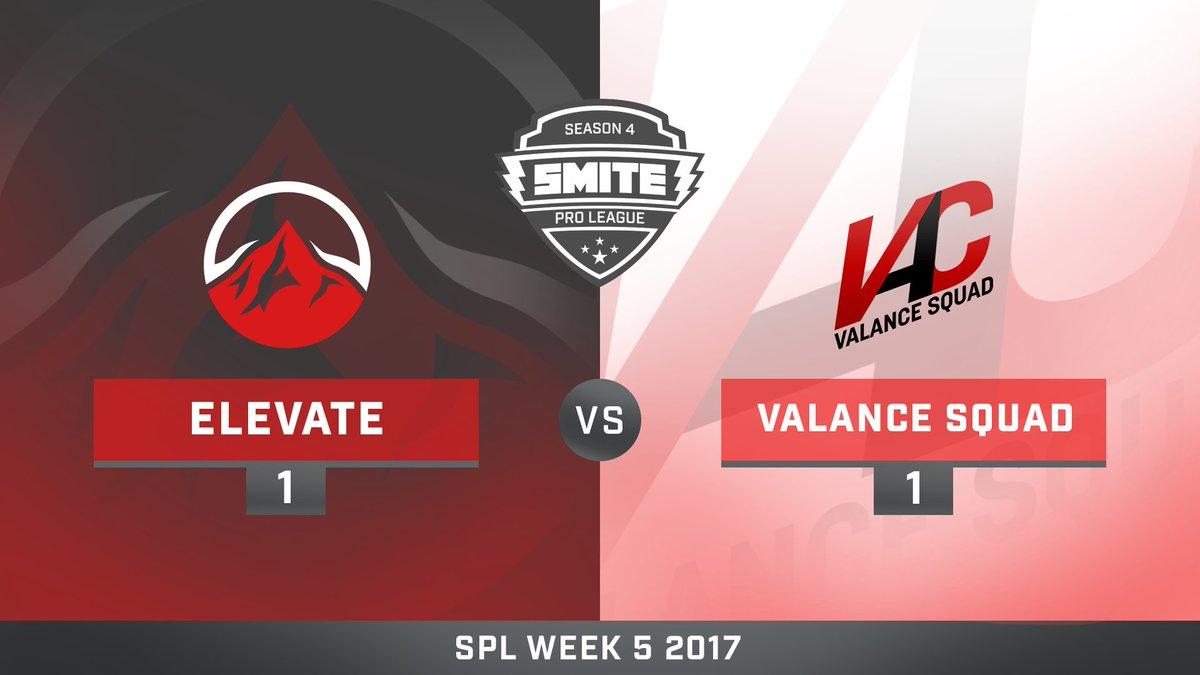 eLevate vs Valance Squad