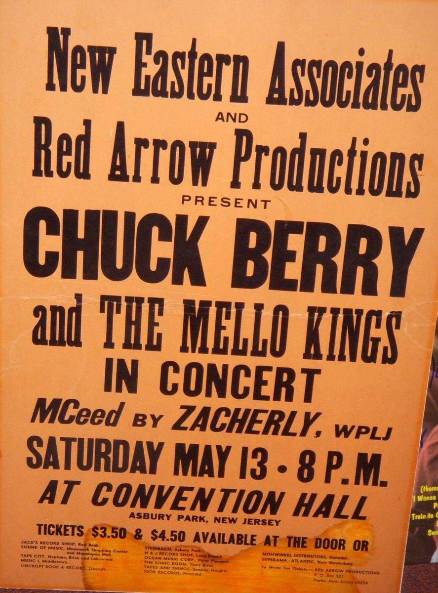Guitar's Godfather | #ChuckBerry | #Asbury Park Convention Hall #music #concert #RIP https://t.co/lVHg0ucbm7
