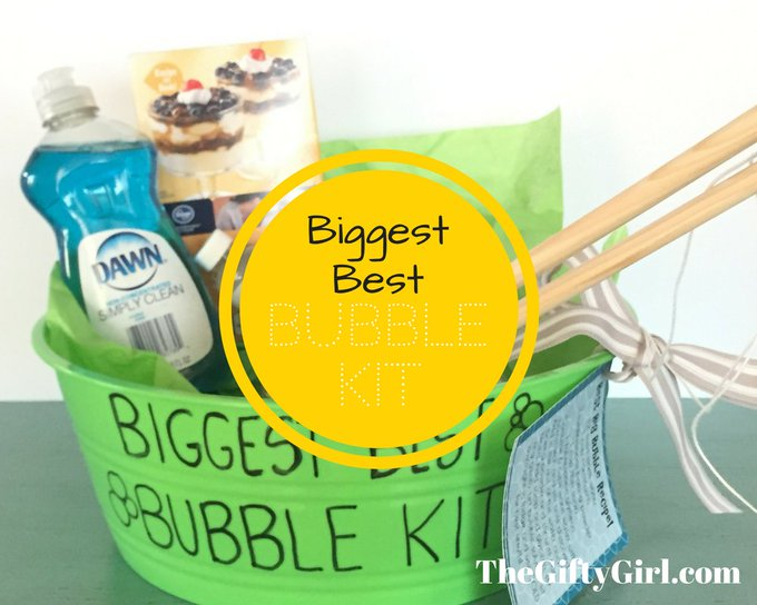 Biggest, Best Bubble Kit! ~ The Gifty Girl