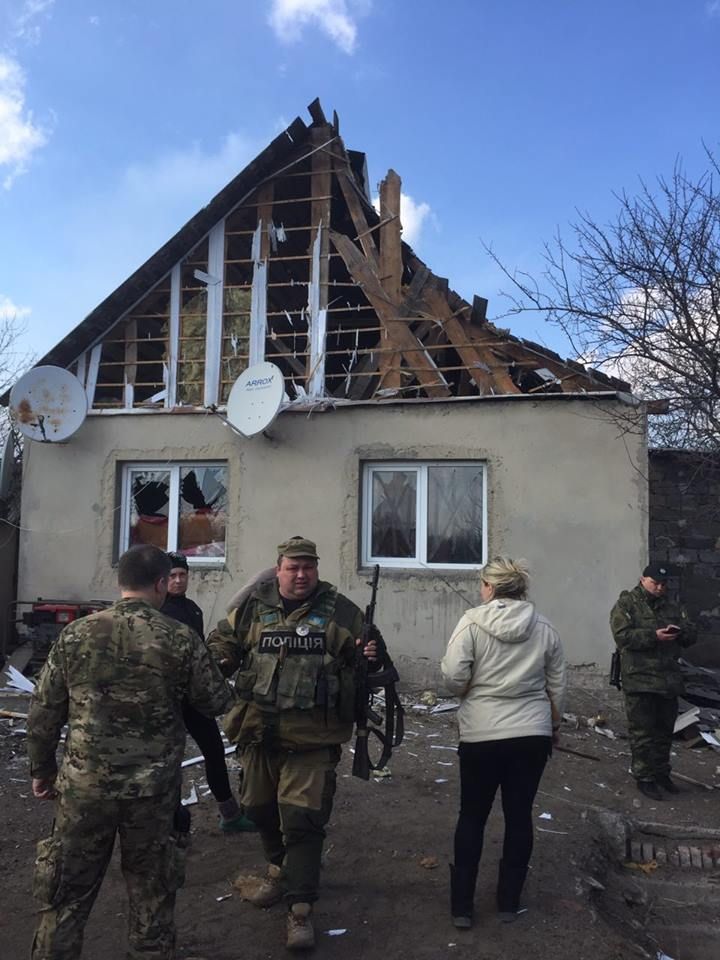 Avdiivka was under militants' tank fire on March 17.