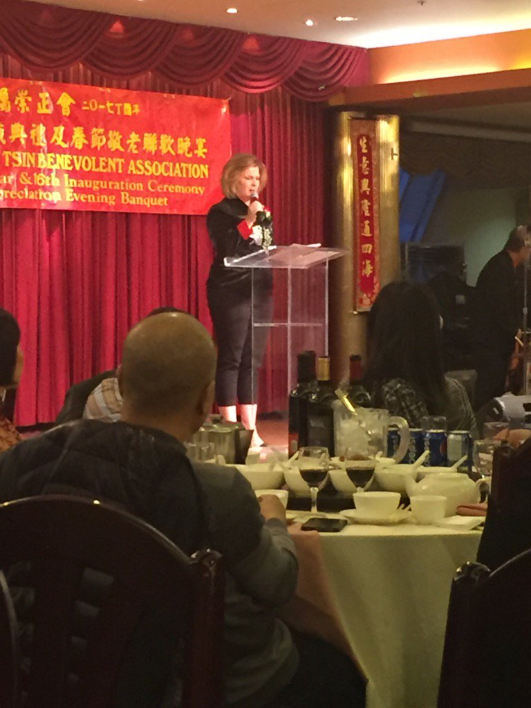 brian malkinson on twitter opening greetings from ndpkaren at tsung tsin benevolent association new year banquet kathleenganley yyc