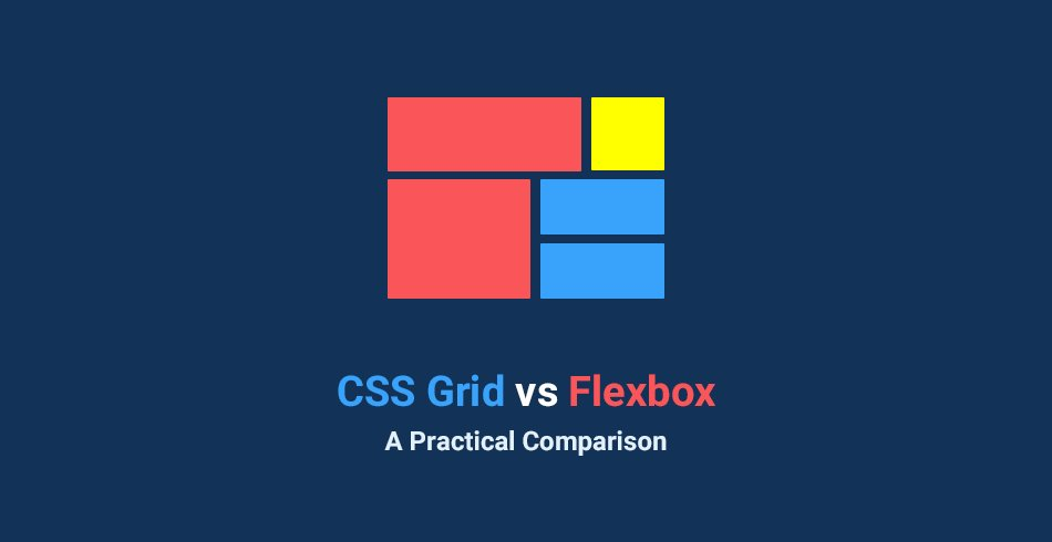 CSS Grid vs Flexbox: A Practical Comparison · ☁ But really, use both! https://t.co/YareTh8SYb https://t.co/8gTPLJdNUX