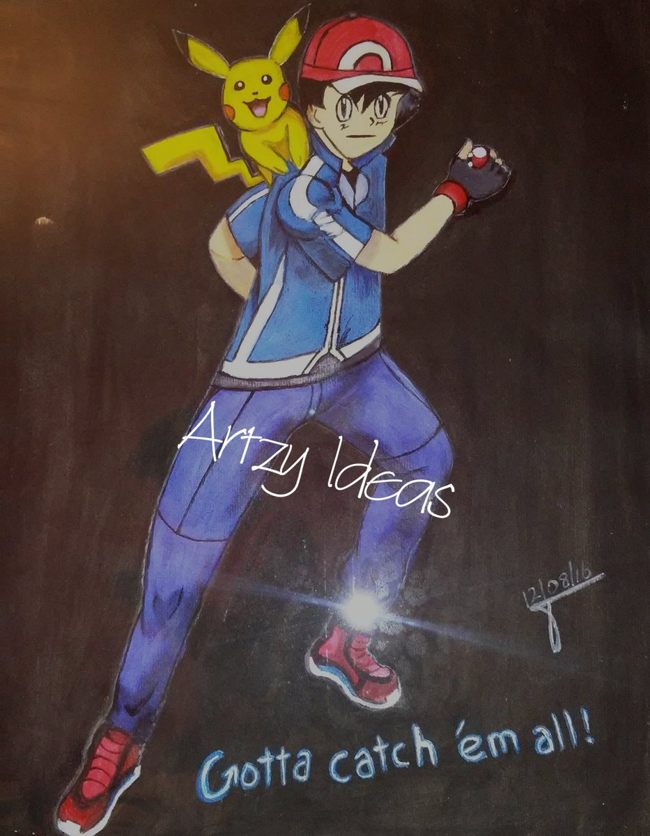 #pikachuandtrainer #artistavailable #GottaCatchEmAll #Pokemon # pikachu #painting #sketchpic.twitter.com/s4NKhyWVnX
