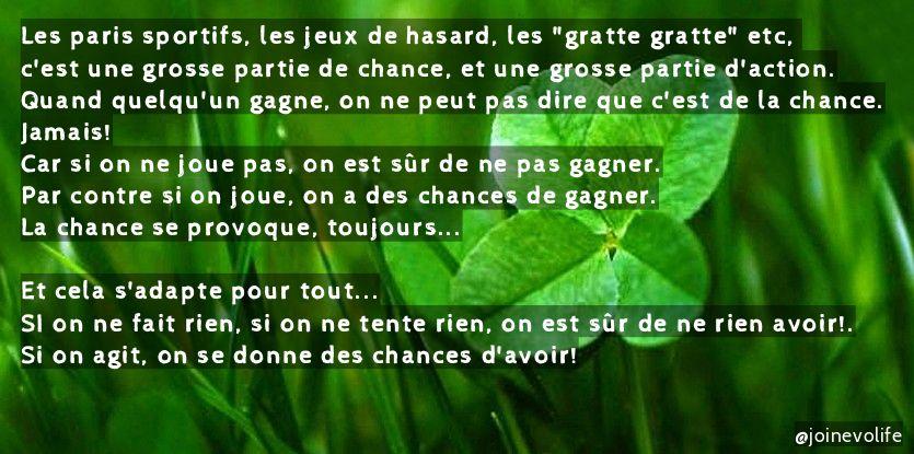 La chance se provoque, toujours  #chance #lachanceseprovoque #hasard #agir #oser #fairelegrandsaut #entreprendre #sacrifice #objectif <br>http://pic.twitter.com/4tsq9kcGCp