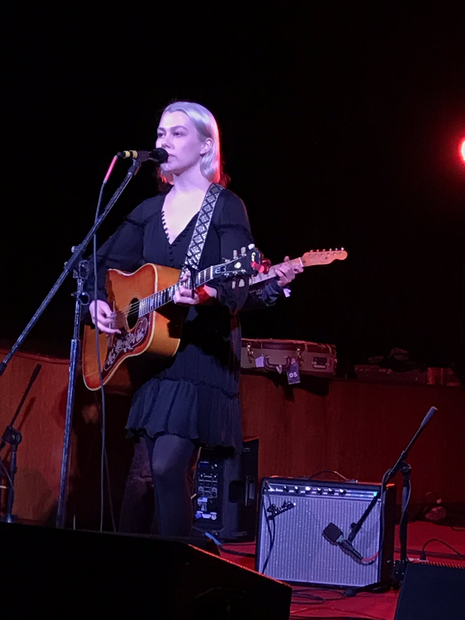 If you didn't cry at least once during @phoebe_bridgers you're a freakin' monster. #SXSW https://t.co/eBkC7wKALz